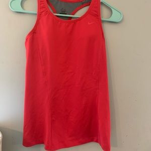 Nike rose swimsuit top dri fit size small